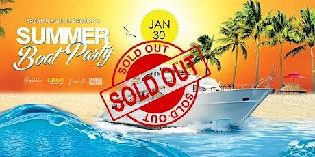 Spanish Harlem - Summer Boat Party tickets