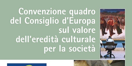 Webinar 13 – Riuso risorse digitali / Comunicare la Convenzione di Faro biglietti