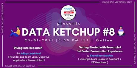 Data Ketchup #8 tickets