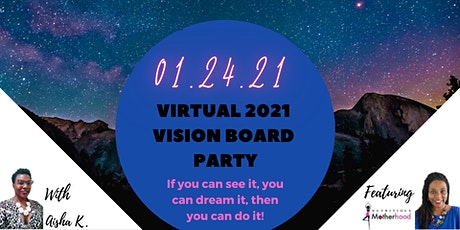 Virtual 2021 Vision Board Party tickets