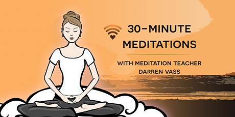 30-minute meditations, Detox your mind - 4-week course tickets