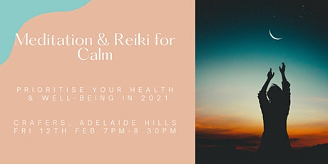 Meditation & Reiki for Calm tickets