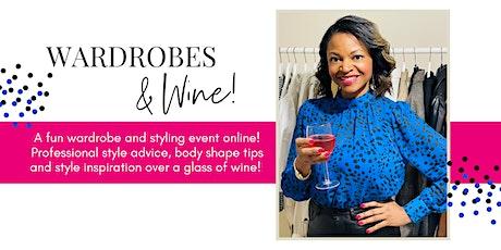 Wardrobes & Wine! tickets