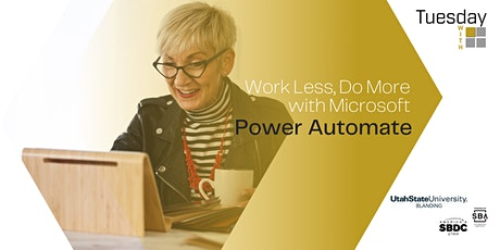 Tuesdays with Microsoft: Work Less, Do More with Microsoft Power Automate tickets