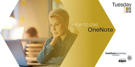 Tuesdays with Microsoft: How to Use OneNote tickets