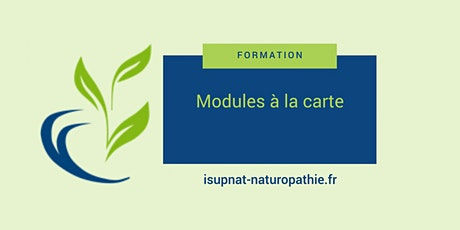 Tempéraments naturopathiques et recherche de vitalité - Module  à la carte billets
