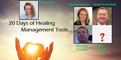 20 Days of Healing - with Vicky Poole, Management Tools tickets