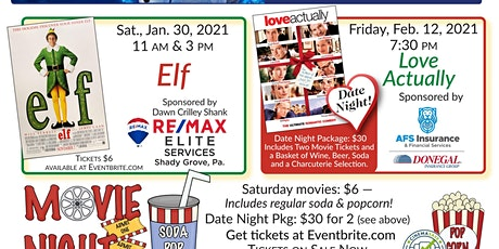 2020-21 Classic Holiday Movie Series tickets
