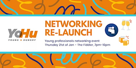 Young & Hungry Networking Re-Launch tickets