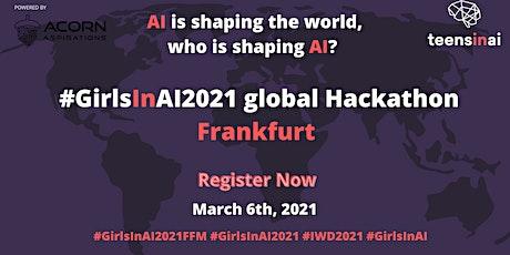 #GirlsInAI2021 Hackathon – Frankfurt tickets