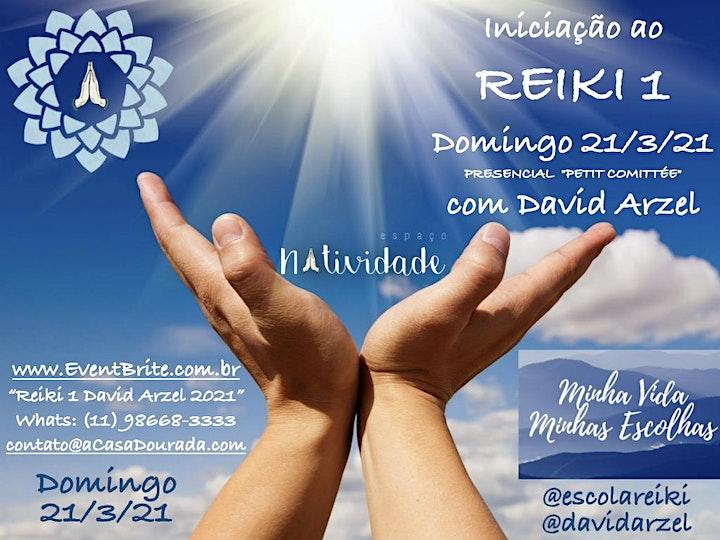 Imagem do evento Iniciação ao REIKI 1 no 21/3/2021 em São Paulo - presencial com David Arzel