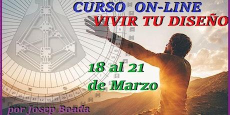 CURSO VIVIR tu DISEÑO On-Line entradas