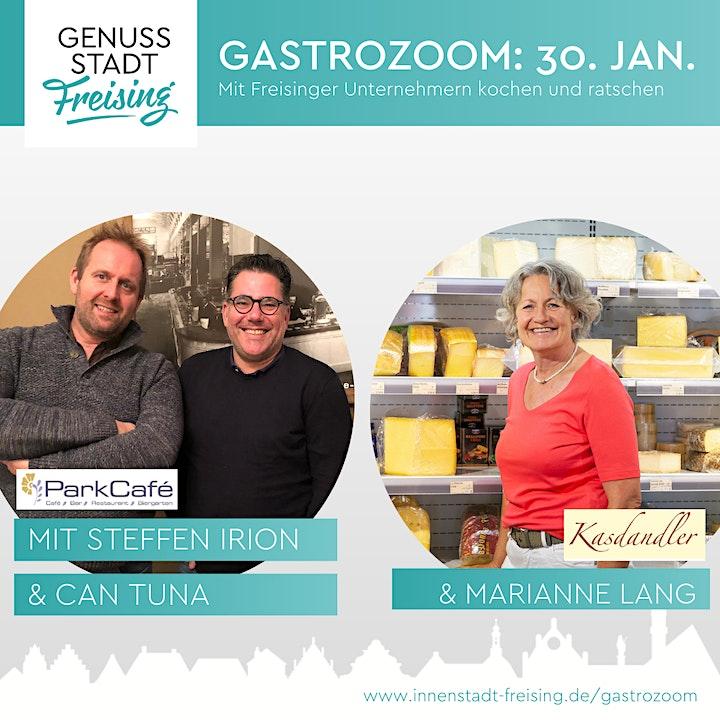 Gastro-Zoom. Kochen und Ratschen mit Freisinger Unternehmern.: Bild