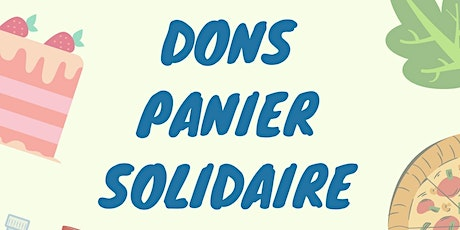 Dons panier solidaire billets