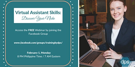 Virtual Assistant Skills: Discover Your Niche tickets