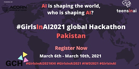 #GirlsInAI2021 Hackathon – Pakistan tickets