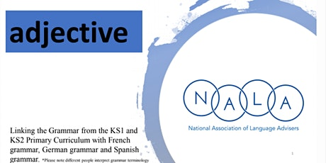 Resource Launch Event (Secondary) - Grammar in the National Curriculum tickets
