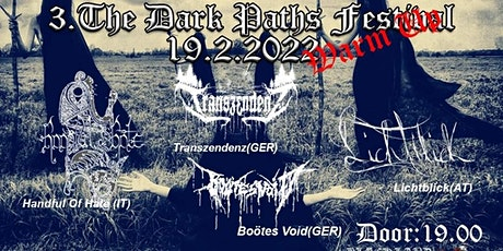 3.The Dark Paths Festival Warm Up tickets