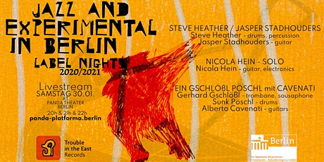 LIVESTREAM: JAZZ & EXPERIMENTAL IN BERLIN / LABEL NIGHTS #1// #PANDAjazz Tickets