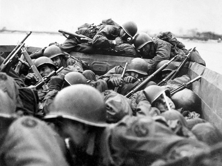 1944 D-day in Normandy: interactive webinar with a professional guide image