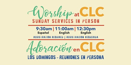 Sunday In Person Gathering | Reunión en Persona los Domingos tickets