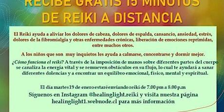 15 minutos gratis de Reiki a distancia boletos