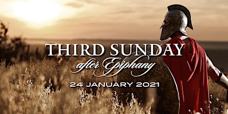 Third Sunday after Epiphany, 24 January  2021 tickets