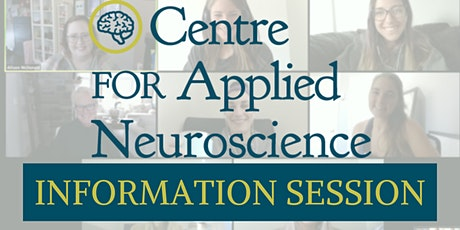 Centre for Applied Neuroscience Life Coaching Certification Info Session tickets