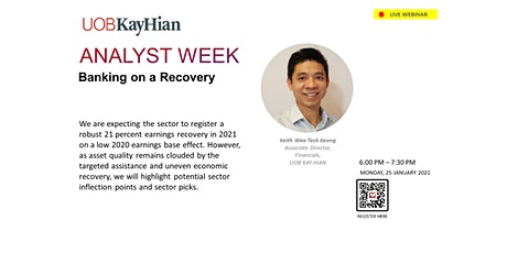 (LIVE WEBINAR) Analyst Week MY: Banking - Banking on a Recovery tickets