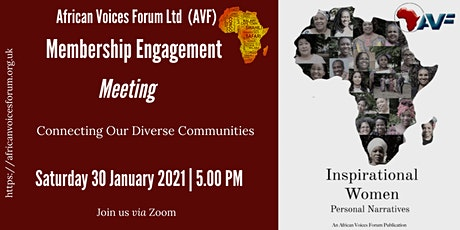 African Voices Forum Membership  Engagement Meeting tickets