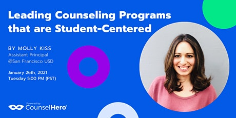 Leading Counseling Programs that are Student-Centered tickets