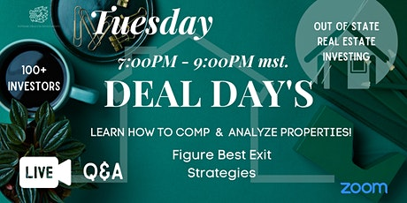 Tuesday Deal Day's: Out Of State Investing For Beginners To Advanced tickets