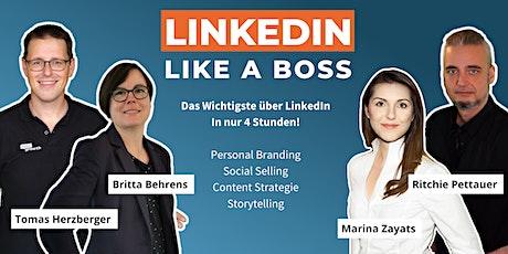 Masterclass: LinkedIn Like A Boss (FEB 21) Tickets