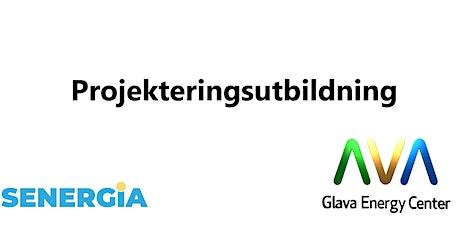 Projekteringsutbildning (i samarbete med Glava Energy Center) biljetter
