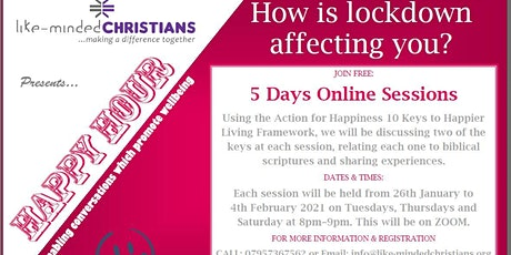 HAPPY HOUR - 5 Days Online Sessions tickets