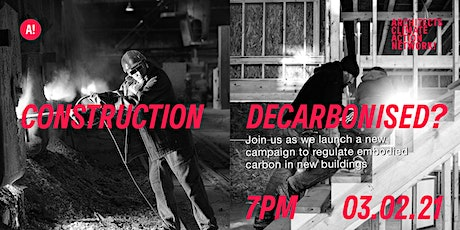 ACAN Embodied Carbon Campaign Launch 3rd Feb tickets