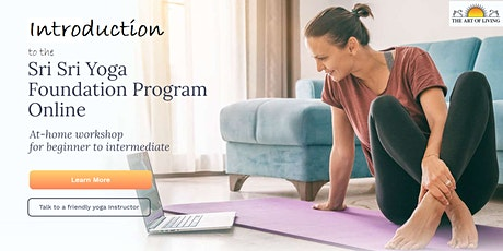 Introduction to the Sri Sri Yoga Foundation Program Online tickets