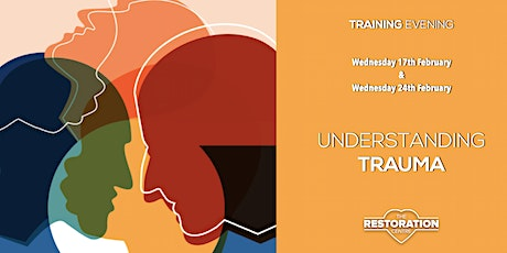 Understanding Trauma : two evenings of training and equipping tickets