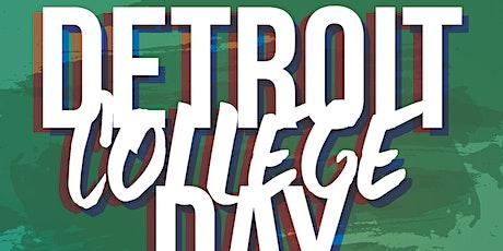 Detroit College Day 2021 tickets
