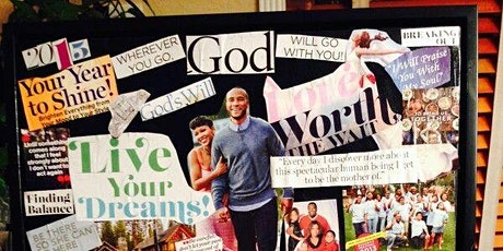 Write the Vision & Make It Plain Christian Vision Board Workshop tickets