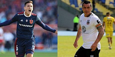 TV/VER.- Colo-Colo v U. de Chile E.n Viv y E.n Directo ver Partido online entradas