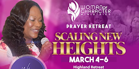 SCALING NEW HEIGHTS - PRAYER RETREAT tickets