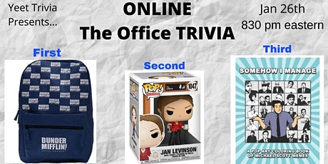 The Office Online Trivia tickets
