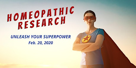 Homeopathic Research - Our Superpower! tickets