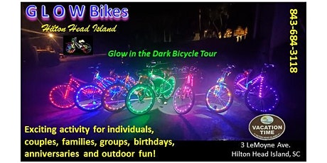 Glow Bikes Hilton Head Island! tickets