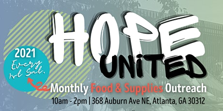 Hope United Presents Feed The Hungry tickets