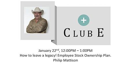 Club E  Digital with Philip Mattison tickets