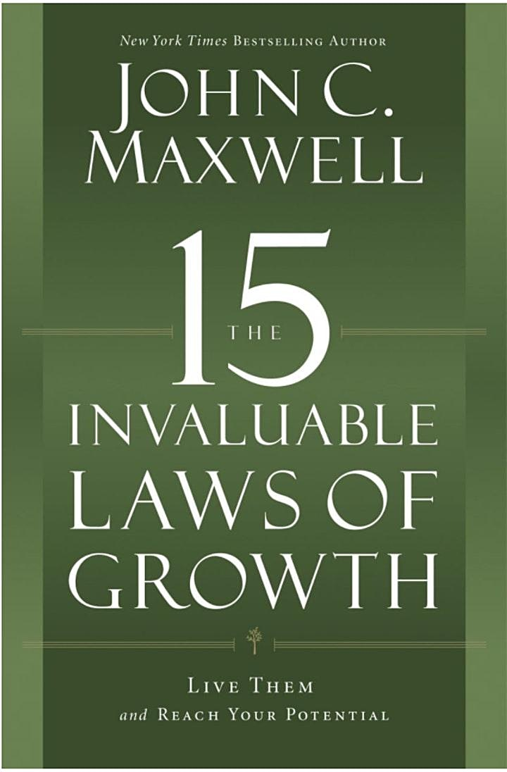 15 Invaluable Laws of Growth: 5-week Mastermind image