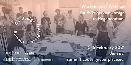 Co-Design Your Place Summit: Workshops & Webinar Tickets
