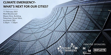 Climate Emergency - what's next for our cities? tickets
